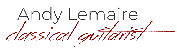 Andy Lemaire, Guitarist Logo